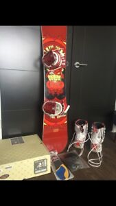 Snowboard, bindings, boots for sale