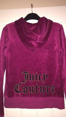 Authentic Purple Juicy Couture Tracksuit Top