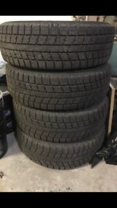 TOYO WINTER TIRES AND RIMS WITH SENSORS- LIKE NEW