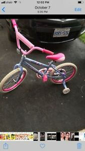 Girl bicycle good condition price reduced $20