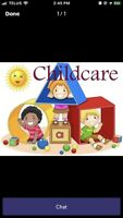 Home daycare with immediate openings