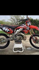Honda cr 250 cr 125