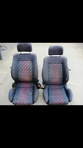Looking for these gti front seats for a MK2 golf!!