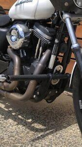Harley Davidson stunt/ highway peg crashbars
