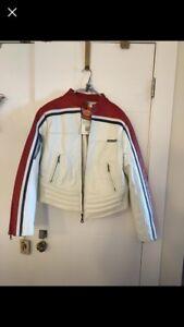 Kids XL motorcycle leather jacket
