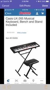 Casio electric keyboard NEW