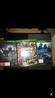 XBOX ONE 500GB with Wired Controller and 3 GAMES Helensvale Gold Coast North Preview