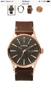 NIXON WATCH (THE SENTRY) Mullaloo Joondalup Area Preview