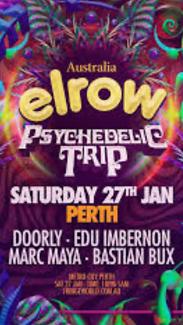 2x Elrow Tickets - Perth
