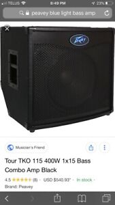TKO Peavey bass amp for sale