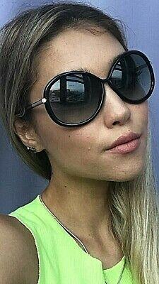 Tom Ford  Black Oversized Women's Sunglasses (Ladies Tom Ford Sunglasses)