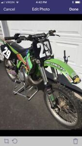 2000 Kawasaki KX 250 motocross dirt bike
