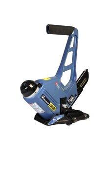 Primatech P250asr 15.5 Gauge Pneumatic Hardwood Flooring Stapler W Roller Base