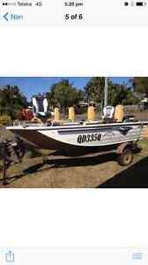 Quintrex Hornet 4.2 Barra Boat Mackay Mackay City Preview