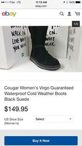 Women's size 10 cougar Winter boots! London Ontario image 1