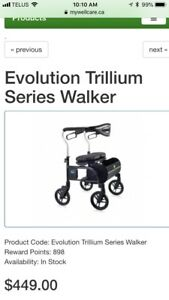 Evolution Walker / 4 Wheel Rollator