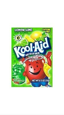 10 Kool-Aid Lemon Lime Unsweetened Drink Mix Packets