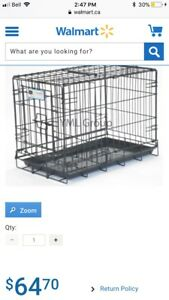 Small-medium heavy duty dog kennel, perfect condition