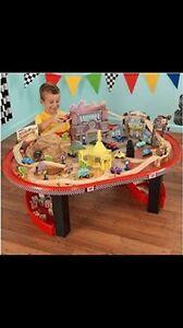 Disney cars Wooden playset and table Frankston Frankston Area Preview