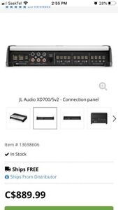 Reduced Price! JL Audio XD 700/5 5 channel amp