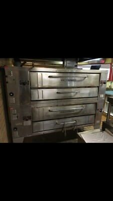 Stone Deck Pizza Oven Double Stack-commercial Use Brick Base