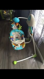 Fisher-Price baby electric rocking chair