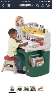 Step 2 - Activity and art desk for child