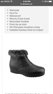 Ladies sizes available 10 11 12 winter boots