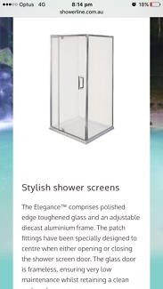 Shower screen elegance