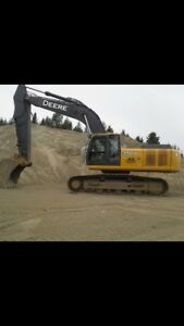 JOHN DEERE 350 EXCAVATOR FOR HIRE