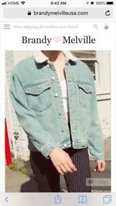 Brandy Melville Shaine Denim Jacket