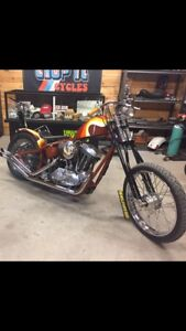Sportster Chopper for sale or trade