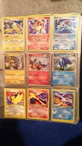 Pokemon card collection + tins and binder