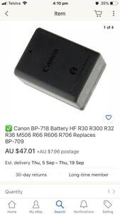 Canon Intelligent Li-ion battery BP-718 Bell Post Hill Geelong City Preview