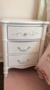 Girl's night tables (sold as a pair)