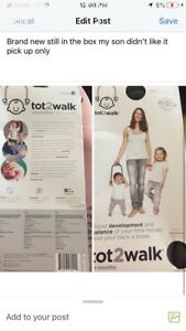 Tot 2 walk BRAND NEW NEVER USED