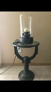 Beautiful PartyLite Water Fountain And Candle Holder