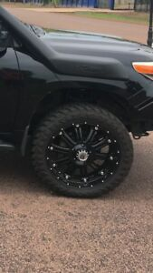 "Wanted: KMC 22"" XD series rims."