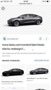Recherche Tesla model 3