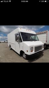 1995 Ford Econoline 350 commercial side step