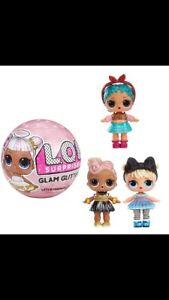 Looking for glam glitter series lol dolls