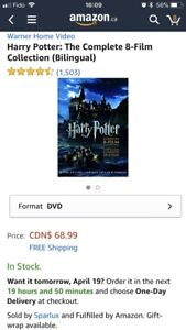 HARRY POTTER: COMPLETE 8-FILM COLLECTION (BILLINGUAL)