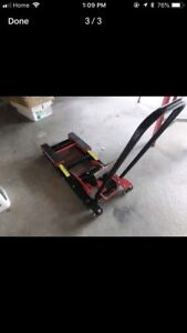 Motorcycle jack stand