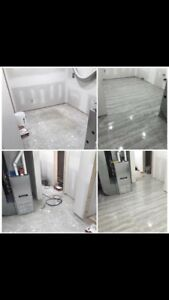 Tile demolition and installations