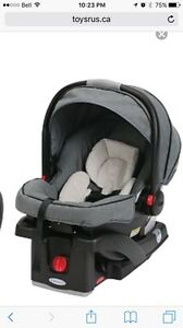 GRACO click connect car seat downtown pattern