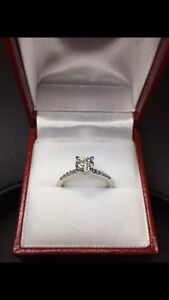 New 0.90ct Engagement Ring
