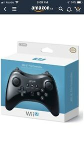 ISO: Wii U pro controller and games