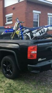 2008 yz450f $3000 firm or trade for a 4x4 atv