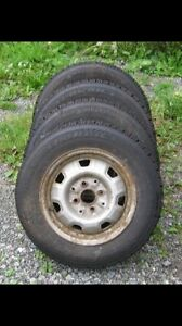 Winter tires 13inch 4x100 like new
