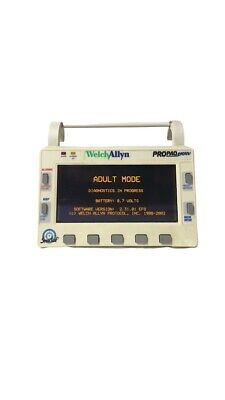 Welch Allyn Propaq Encore 206el Patient Monitor With Power Supply